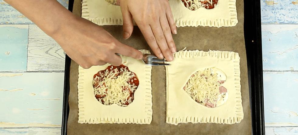 Blätterteigkissen Rezept Zubereitung - Schritt 8