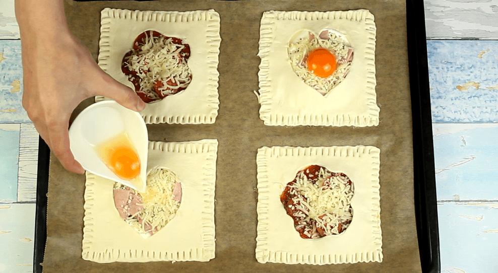 Blätterteigkissen Rezept Zubereitung - Schritt 9